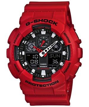 Relógio Casio G-shock Ga-100b-4adr - Frete