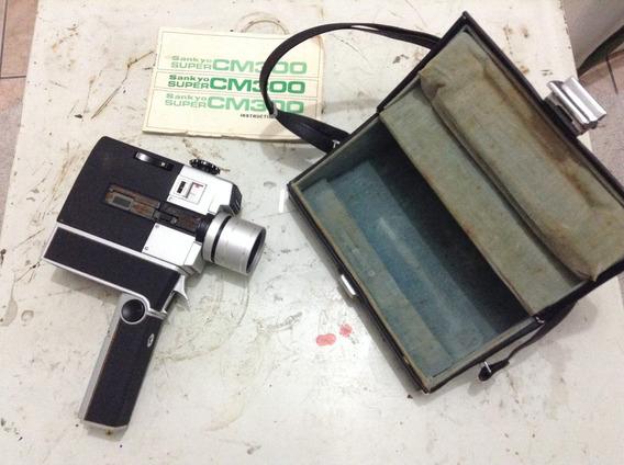 Filmadora Super 8 Sankyo Super Cm 300