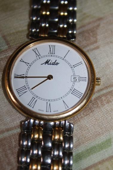 Regalado Reloj Mido Multifort Dorada De Oportunidad