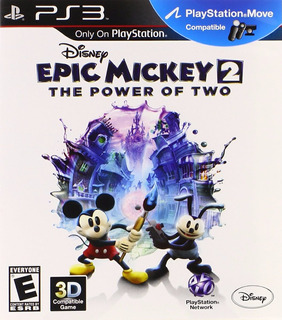 Disney Epic Mickey 2 Ps3 Juego Digital En Manvicio