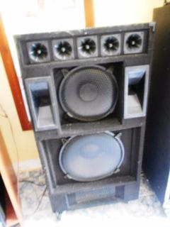 Cabinas Profesionales X 2-parlantes Pioneer 15 12 Permuto