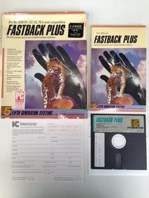 Programa Fastback Plus Original Caixa Completo Antigo Soft