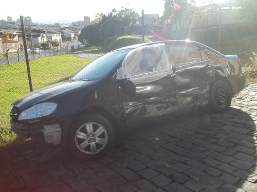 Imagem 1 de 3 de Toyota Corolla Sucata Peças- Motor Caixa Câmbio Porta