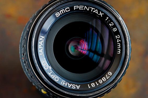 Pentax 24mm F2.8 - Baioneta Pk - Full Frame - Bom Estado