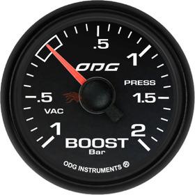 Manovacuometro Turbo -1.0 A 2.0 Bar Fullcolor Dakar - Cód.43