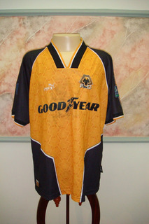Camisa Futebol Wolverhampton Inglaterra Antiga Puma 1084