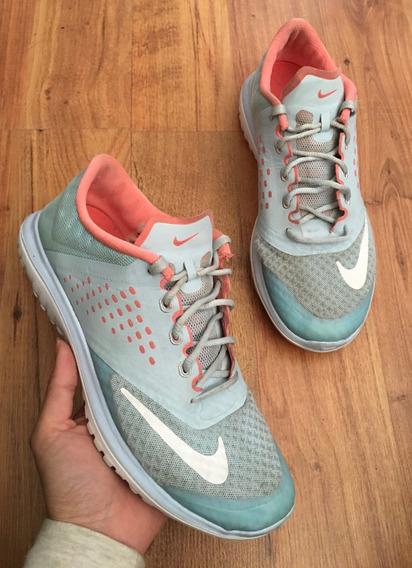 Padrisimos Tenis Nike Slim Fitsole Celeste 100% Originales!!