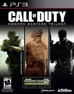 Cod Modern Warfare Trilogy Ps3 Digital En Español 3 Juegos