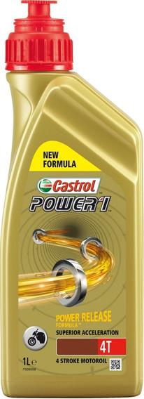 Óleo Castrol Power1 Moto 4t 5w40 100% Sintético