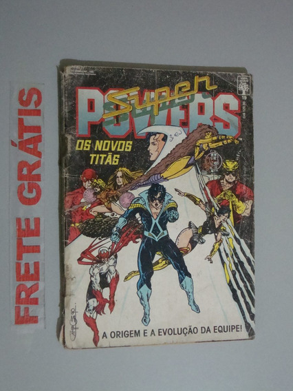 Revista Super Powers - Os Novos Titãs - 19