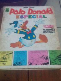 Pato Donald Especial 1975 Coleção Capa Dura Anos 70
