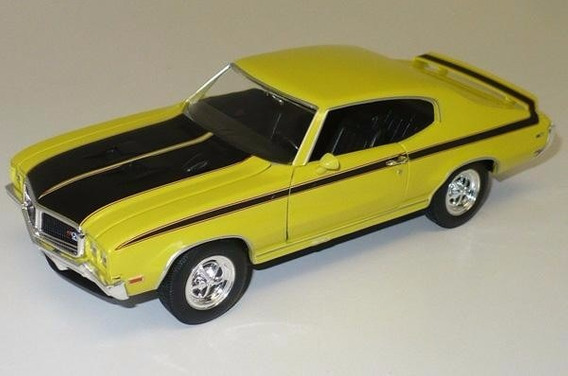 Buick Gsx 1970 1/24 By Welly Yellow
