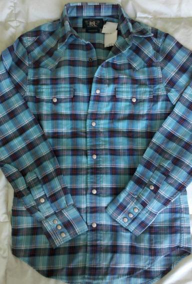 Camisa Western Dama Ralph Lauren