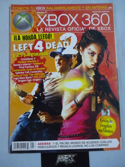 Revista Oficial Xbox 360. No. 21. Game Fenix