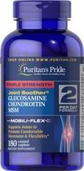 Glucosamina 1500mg + Chondroitin +msm X 180 Caps 2 Por Dia