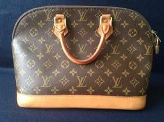 Bolso Louis Vuitton Lv Monogram Alma Satchel Mk Coach Ch