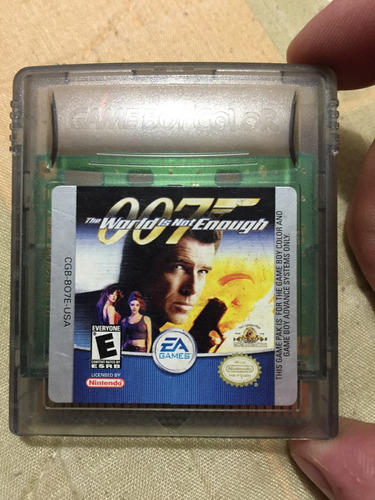 007 The World Is Not Enogh.  Gameboy Color