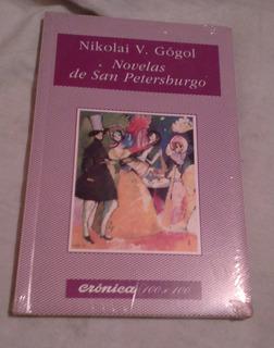 Libro Novelas De San Petersburgo - 12 X 18 Cms