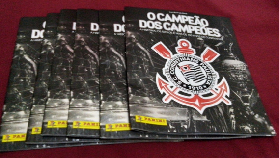 Figurinhas Do Álbum Corinthians Campeão Dos Campeões