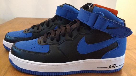 Tenis Masculino Nike Air Force 1 Azul