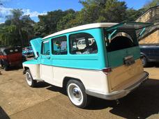 Ford Rural Willys Luxo 72 - Original Revisada Docks Ok Linda