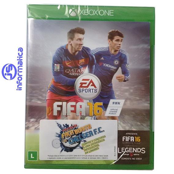 Jogo Fifa 16 Xbox One Original-promoçao