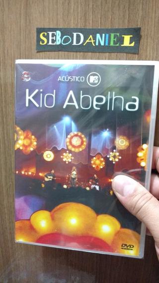 Dvd Kid Abelha Acústico Mtv - Original, Novo E Lacrado
