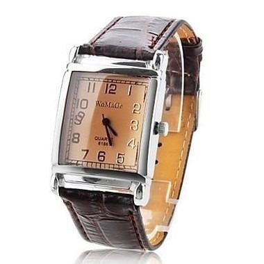 Relógio Womage Quartz Unissex