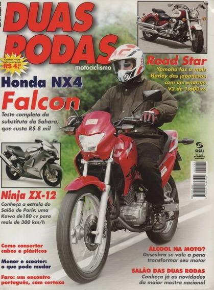 Duas Rodas N°290 Honda Nx4 Falcon Ninja Zx-12 Road Star 1600