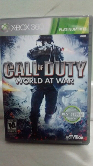 Cal Of Duty World At War Xbox 360