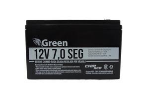 Bateria Selada 12v 7,0 Green Cerca Elétrica Nobreak Alarme
