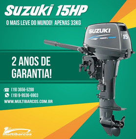 Motor Suzuki 15 Hp 2 Tempos