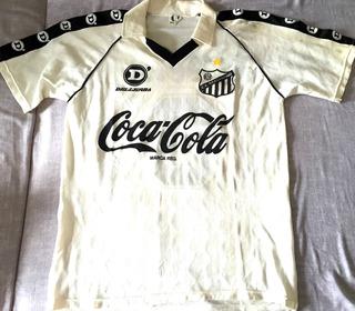 Camisa Bragantino Usada Em Jogo 1990 Coca Cola Rara