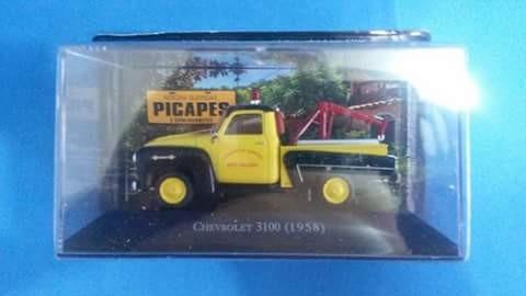 Miniatura Pickup Chevrolet 3000 Guincho 1:43 Novo !!!