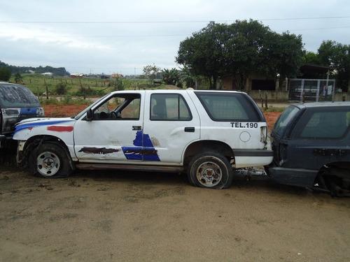 Sucata Chevrolet Blazer 2.4 Gasolina Peças Motor Cambio