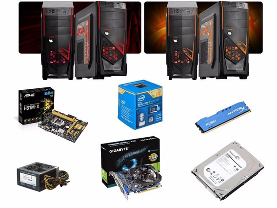 Cpu Gamer Asus+i5 4460+8gbhyper-x+hd1tera+gforce Gt420 2gb