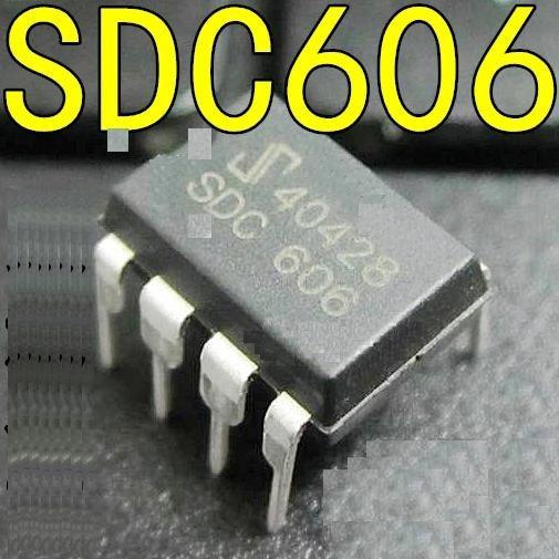 Sdc606 Pwm De Gerenciamento De Linha Dip8 Original Novo