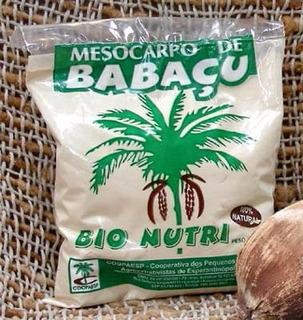 Mesocarpo Farinha De Babaçu Do Maranhão 100% Natural 1.500g
