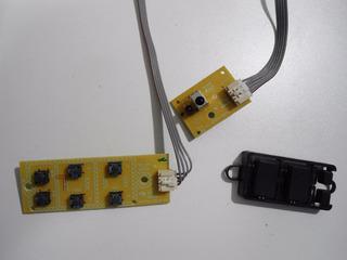 Placa Comandos + Teclado + Sensor Philco Ph32m4