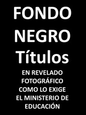 Fondo Negro Titulos