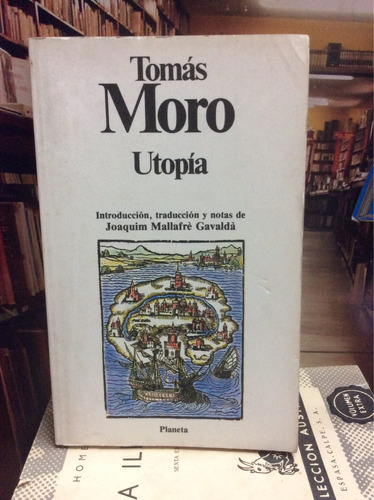 Tomás Moro. Utopía