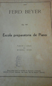 Revista Escola Preparatória De Piano Ferd. Beyer