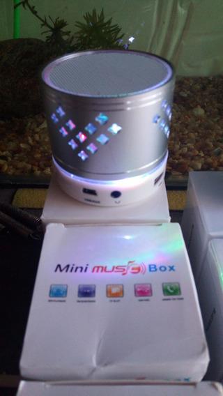 Mini Caixa De Som - Bluetooth, Mp3, Fm, Pendrive - Sensação!