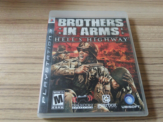 Jogo Ps3 Brothers In Arms