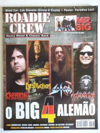 Revista Roadie Crew Ano 13 - N 147