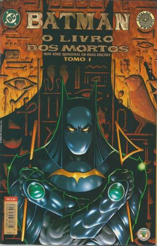 Batman O Livro Dos Mortos Tomo 1 Dc Comics Editora Abril