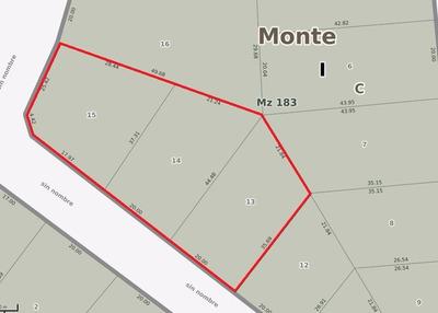 3 Lotes En San Miguel Del Monte
