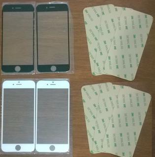 Vidro Lente iPhone 6 4,7 Pol Original+adesivo3m Frete Grátis
