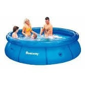 Pileta Redonda Inflable Best Way 3,60 X 76