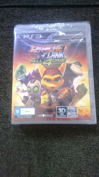 Ratchet Clank All 4 One Mídia Física Lacrado E Original!!